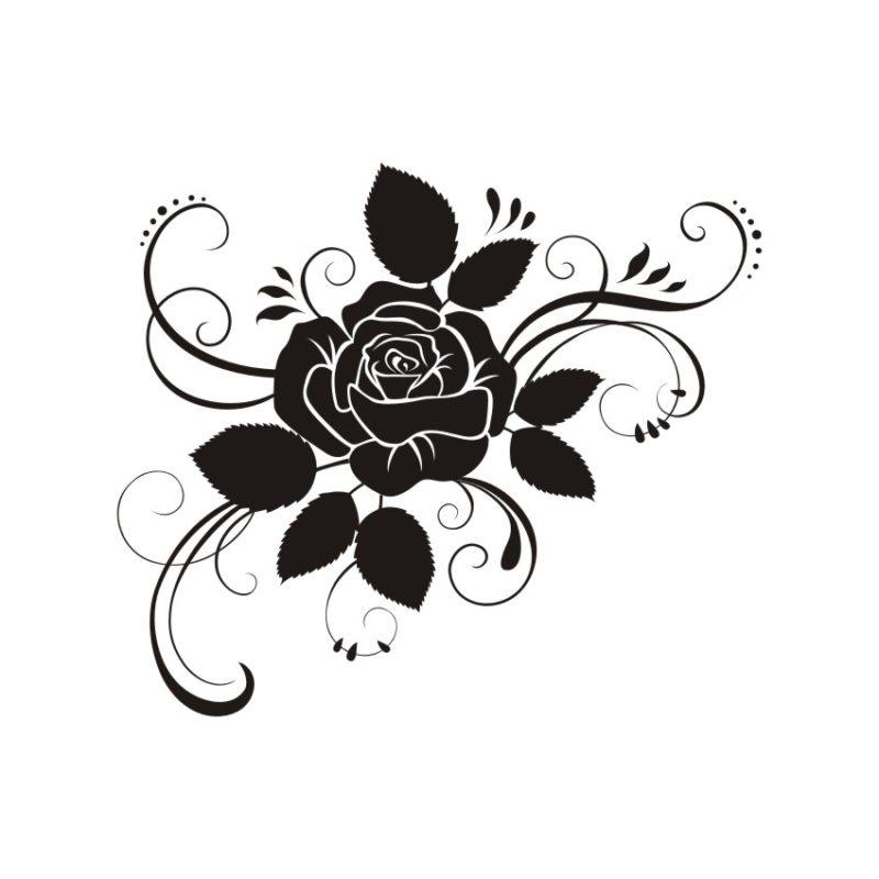 Decorative Flower Vectors 24