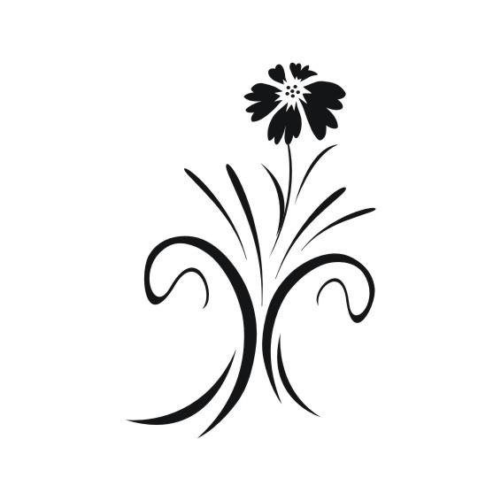 Decorative Flower Vectors 71