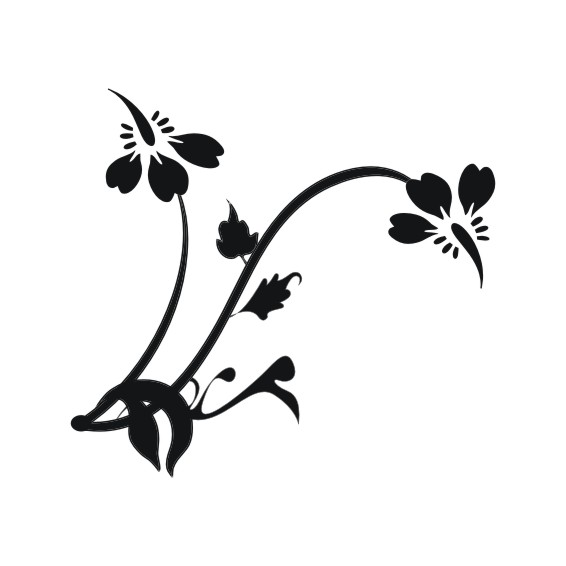 Decorative Flower Vectors 74