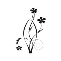 Decorative Flower Vectors 76