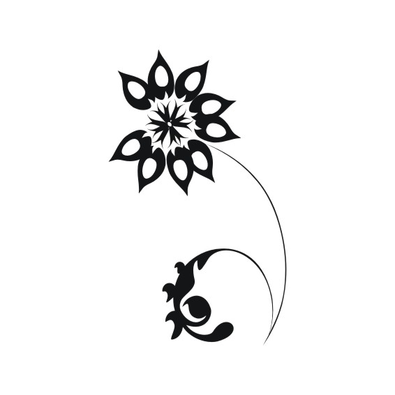Decorative Flower Vectors 80