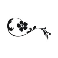 Decorative Flower Vectors 82