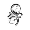Decorative Flower Vectors, Feather Vectors