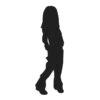Girl, Girl Silhouette