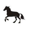 Horse Vector, Horse Vectors, Horses Vectors, Animals Vectors, Horse Silhouette, Mustang Vector, Pony Vector,head Horse Vector