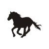 Horse Vector, Horse Vectors, Horses Vectors, Animals Vectors, Horse Silhouette, Mustang Vector, Pony Vector,head Horse Vector, Foal Vector 2