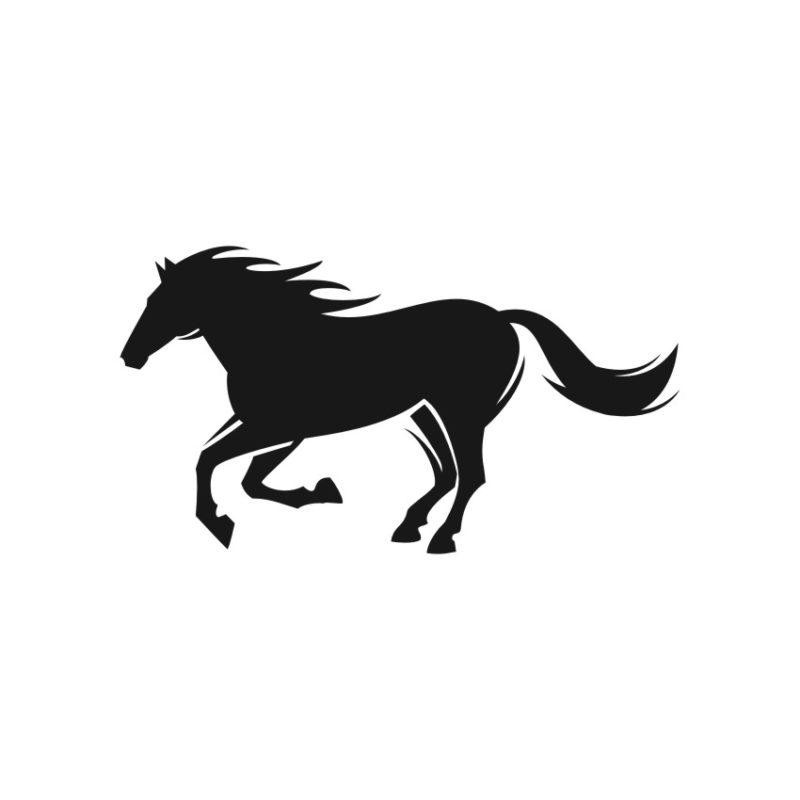 Horse Vector, Horse Vectors, Horses Vectors, Animals Vectors, Horse Silhouette, Mustang Vector, Pony Vector,head Horse Vector, Foal Vector 3