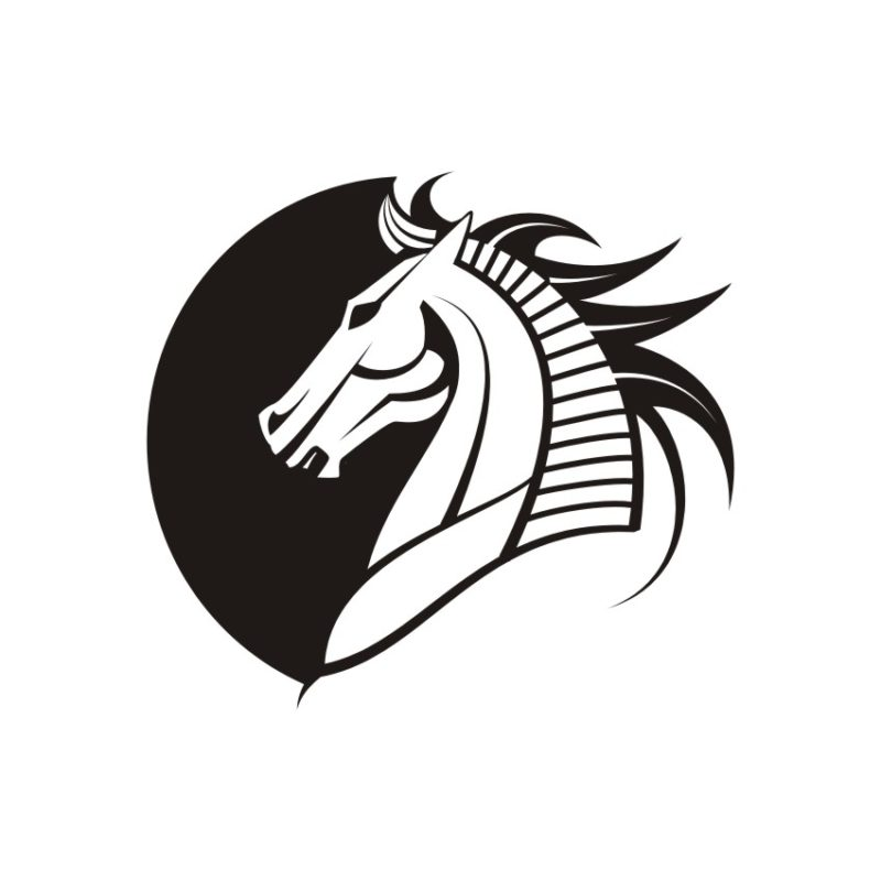 Horse Vector, Horse Vectors, Horses Vectors, Animals Vectors, Horse Silhouette, Mustang Vector, Pony Vector,head Horse Vector, Foal Vector 5