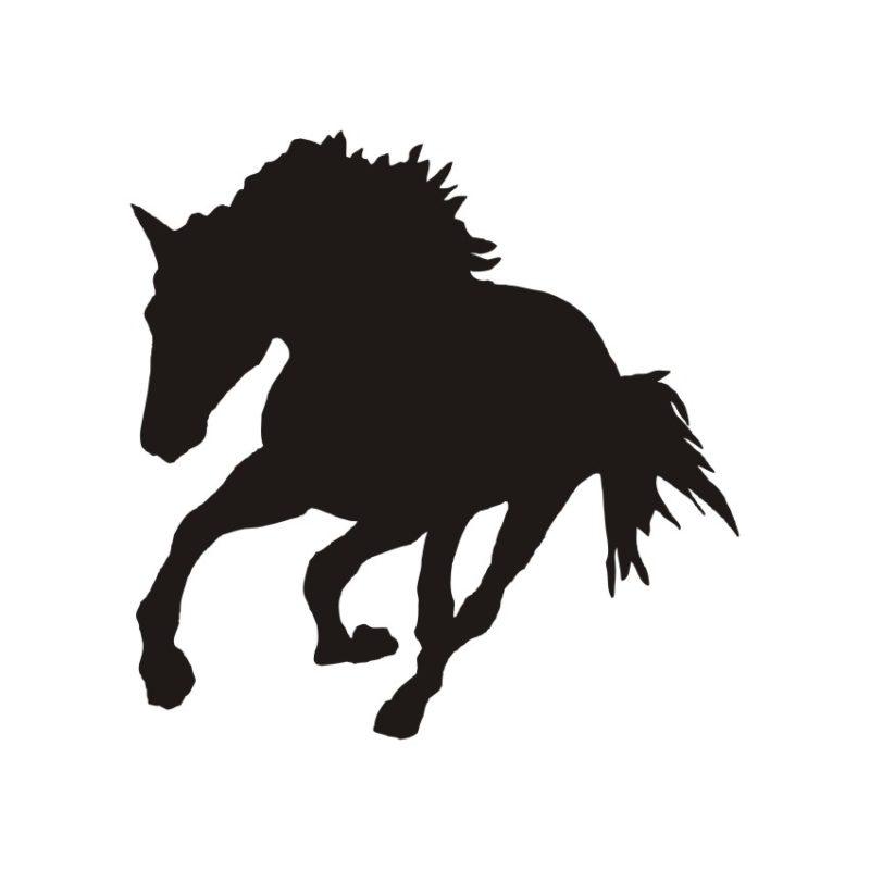 Horse Vector, Horse Vectors, Horses Vectors, Animals Vectors, Horse Silhouette, Mustang Vector, Pony Vector,head Horse Vector, Foal Vectors 2