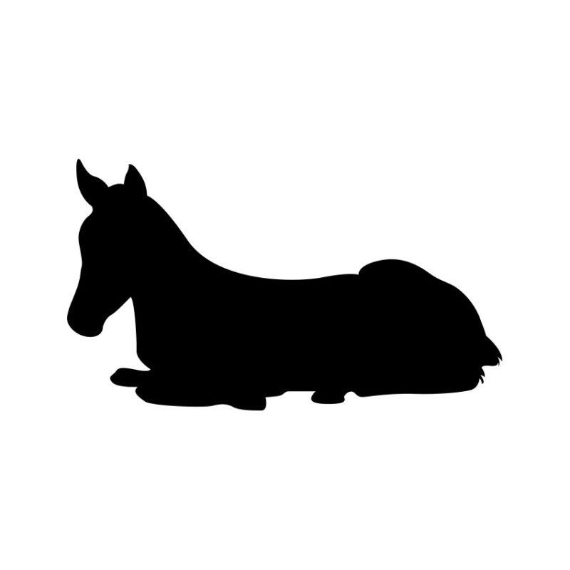 Horse Vector, Horse Vectors, Horses Vectors, Animals Vectors, Horse Silhouette, Mustang Vector, Pony Vector,head Horse Vector, Foal Vector (5)