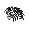 Horse Vector, Horse Vectors, Horses Vectors, Animals Vectors, Horse Silhouette, Mustang Vector, Pony Vector,head Horse Vector, Foal Vector 8