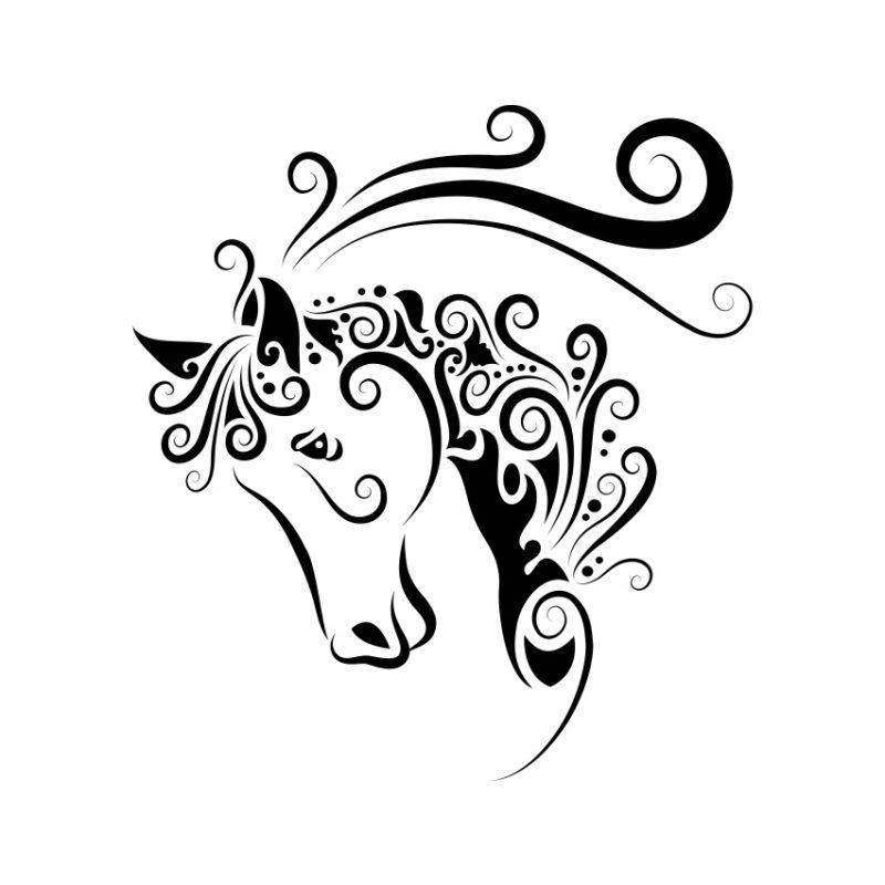 Horse Vector, Horse Vectors, Horses Vectors, Animals Vectors, Horse Silhouette, Mustang Vector, Pony Vector,head Horse Vector, Foal Vector
