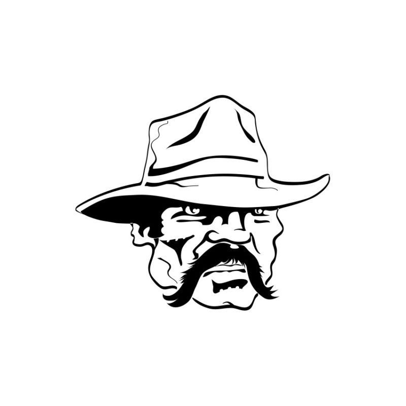 Vector Cowboy, Cowboy Vectors, crd files, Cowboy Photos, Cowboy Corel files, Cowboy PSD files, Cowboy Silhouette, vector, Skelet Cowboy vector, Head vector, Cowboy cap Vector