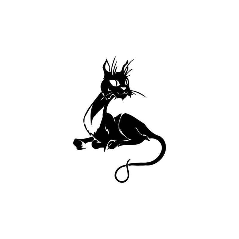 Cat Vector, Cat Vectors, Cats Vectors, Animals Vectors, Cat Silhouette, Pussycat Vector, Pussy Vector, Amazing Cat Vector (10)