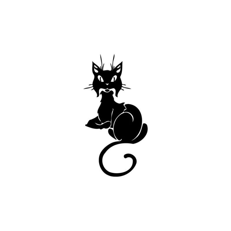 Cat Vector, Cat Vectors, Cats Vectors, Animals Vectors, Cat Silhouette, Pussycat Vector, Pussy Vector, Amazing Cat Vector (15)