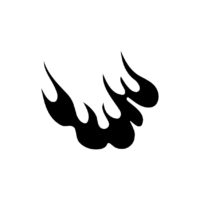 Symbol Of Tuning Flames Vector, Decorative Lines Vector, Symbols Vectors, Tuning Flames Vector, Decorative Lines Vector Fire Vectors Gsc2