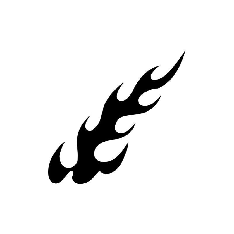 Symbol Of Tuning Flames Vector, Decorative Lines Vector, Symbols Vectors, Tuning Flames Vector, Decorative Lines Vector Fire Vectors