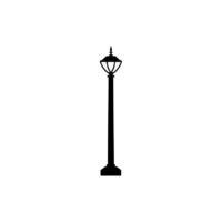 Gas Lamp Vector 1