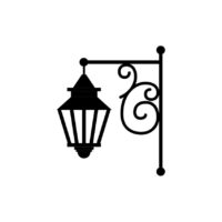 Gas Lamp Vector 6