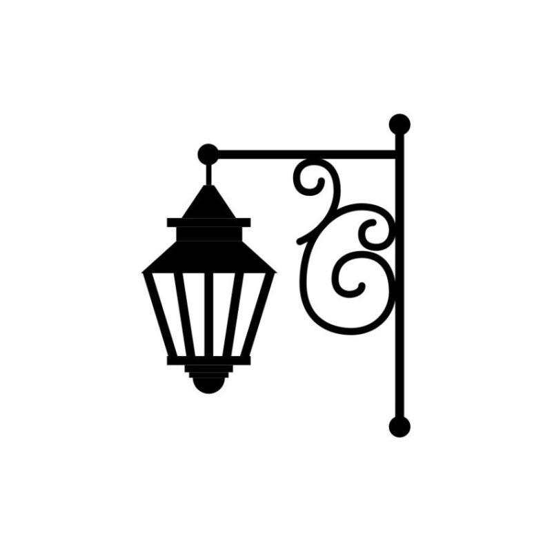 Gas Lamp Vector 6